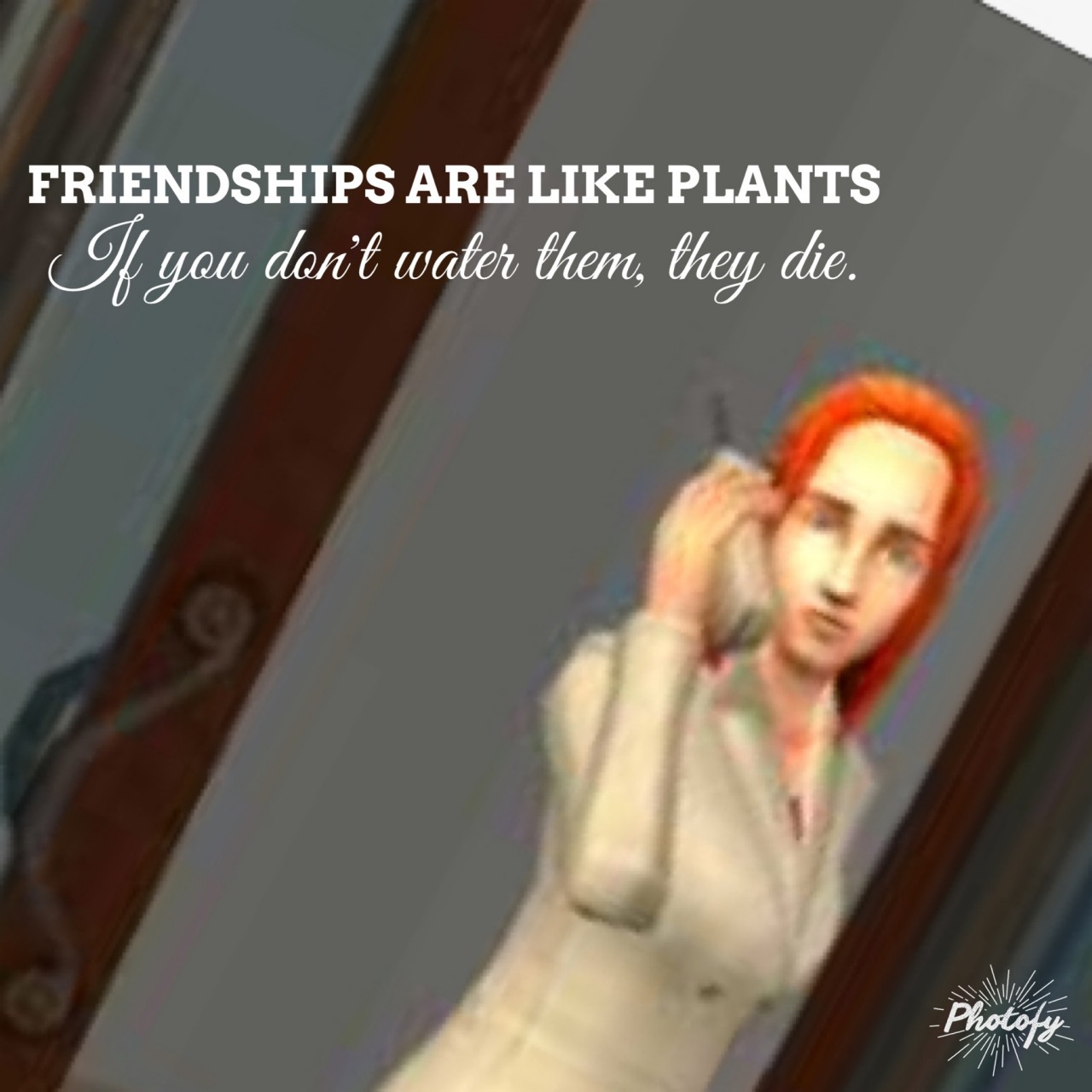 Lessons in Friendship Learned from The Sims