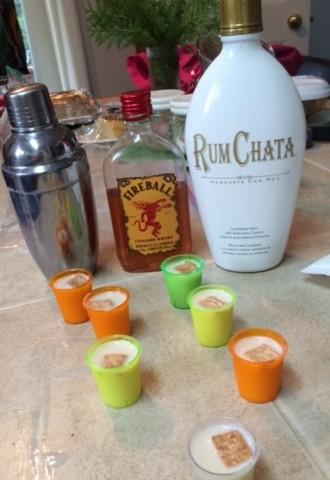 Honey Nut Cheerios Inspired breakfast shot recipe