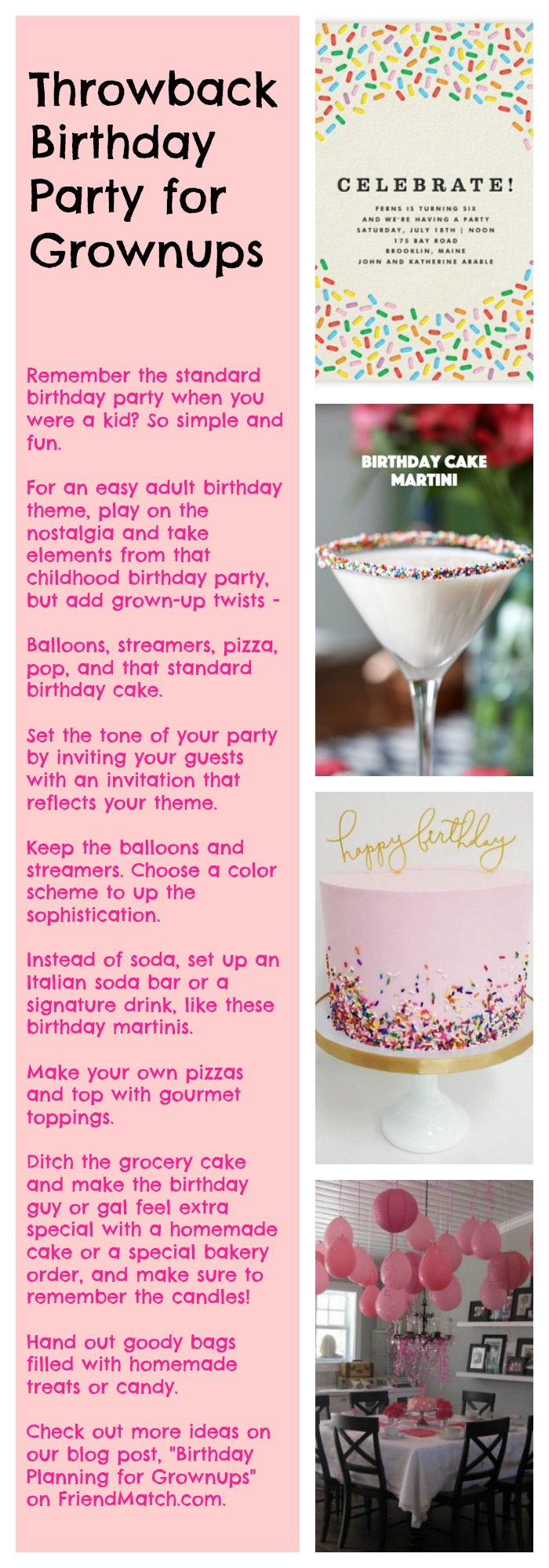 Have You Ever Celebrated With A Unique Birthday Party