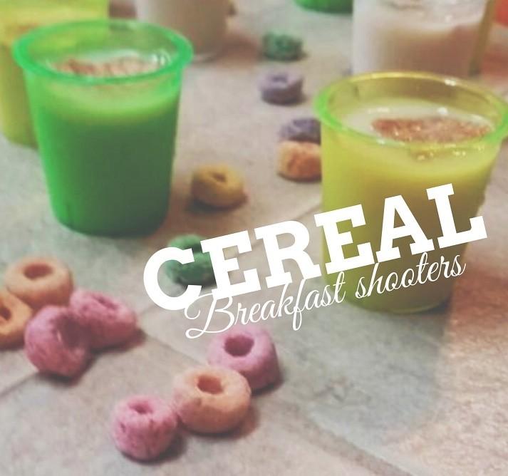 Cereal Breakfast Shooters Recipe